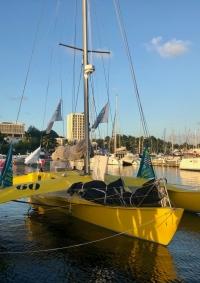 Happy au ponton