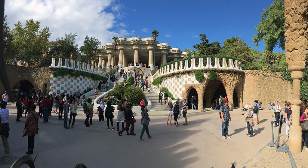 Le Parc Güell - partie payante