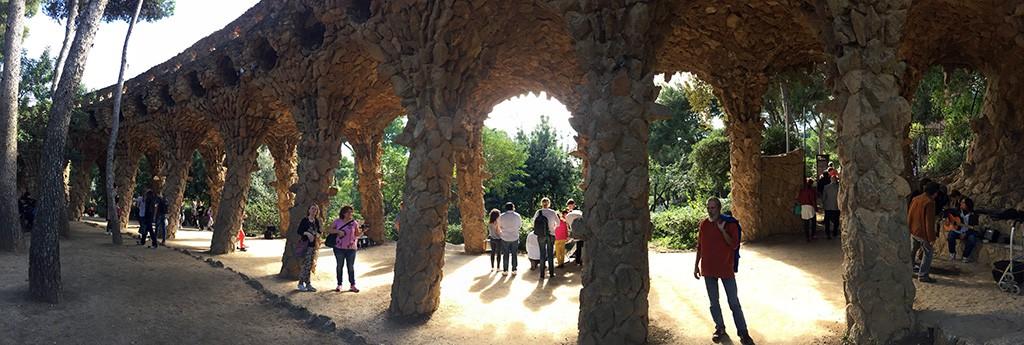 Le parc Güell - partie publique