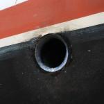 Le tuyau est étanché