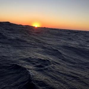 1er lever de soleil sur l'Atlantique