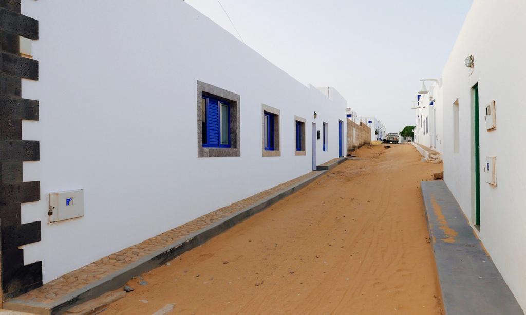 Une rue typique de Caleta de Sebo