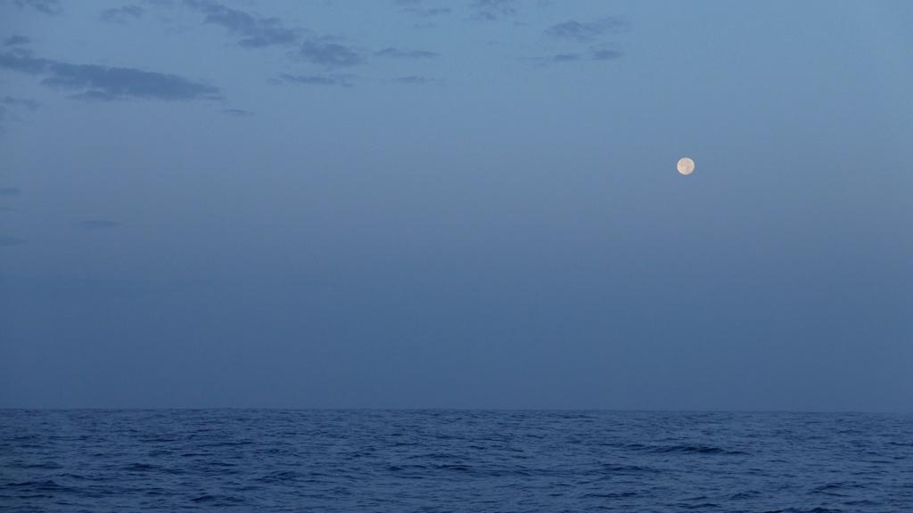 Pleine lune matinale