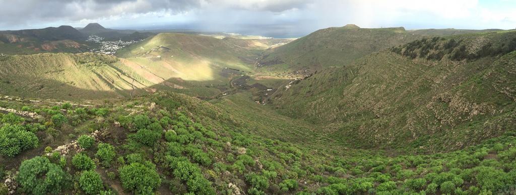 Lanzarote verdoyant