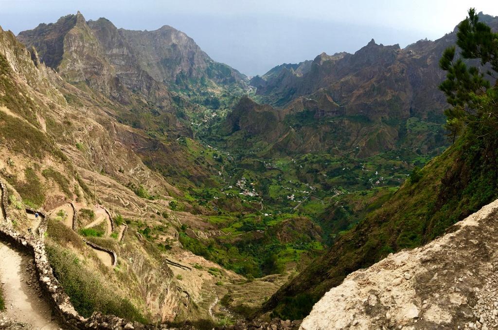 La vallée de Paul depuis les hauteurs de Cova
