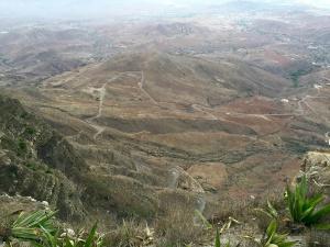 Sao Vicente depuis le point le plus élevé de l'île