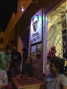 Bar musical dans la vieille ville