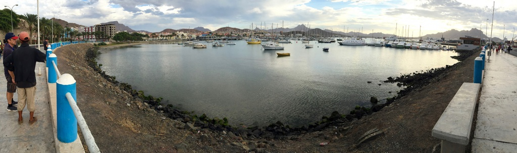 La baie de Mindelo