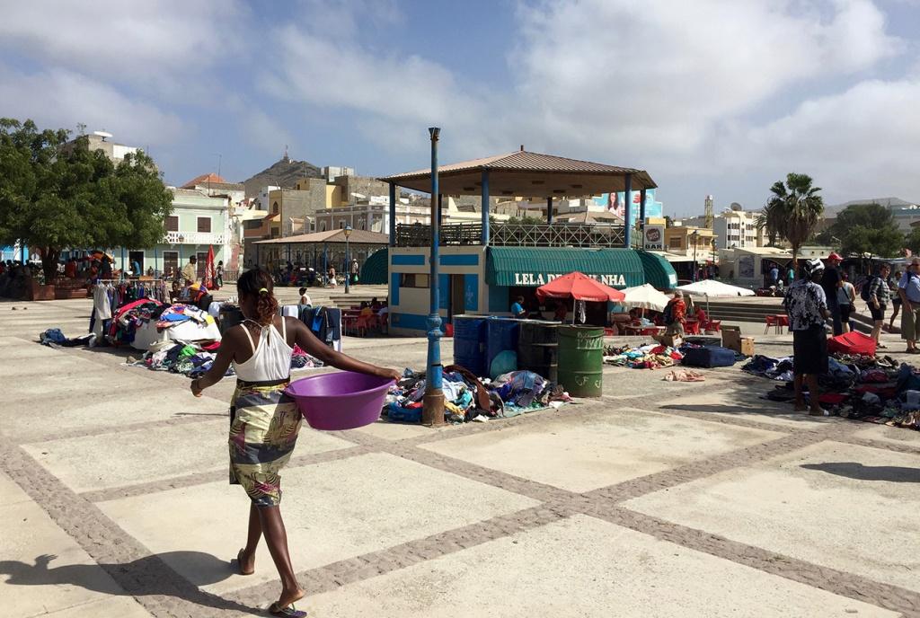 Le marché en plein air de Mindelo