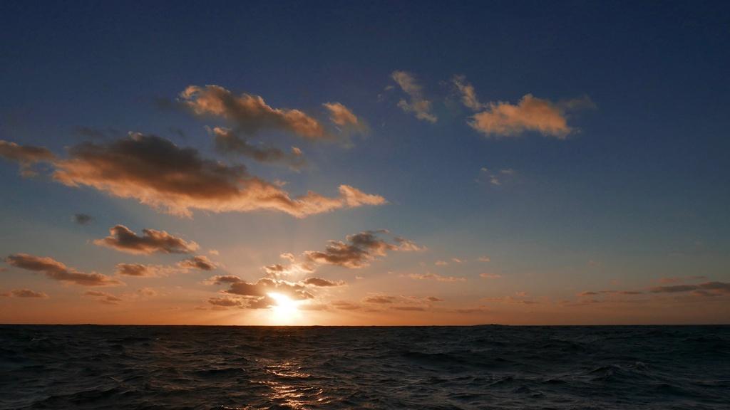 C'est beau un océan calme...