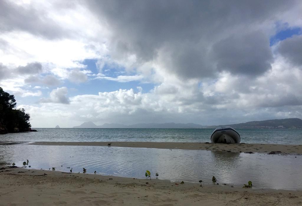 Une utilité de l'annexe : aller sur les plages...