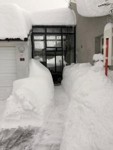 L'hiver en Suisse - chez ma maman