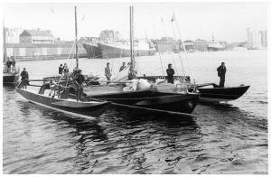 Manureva à St-Malo - 1978