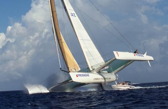 Primagaz, le bateau de toutes les grandes victoires en multicoque.