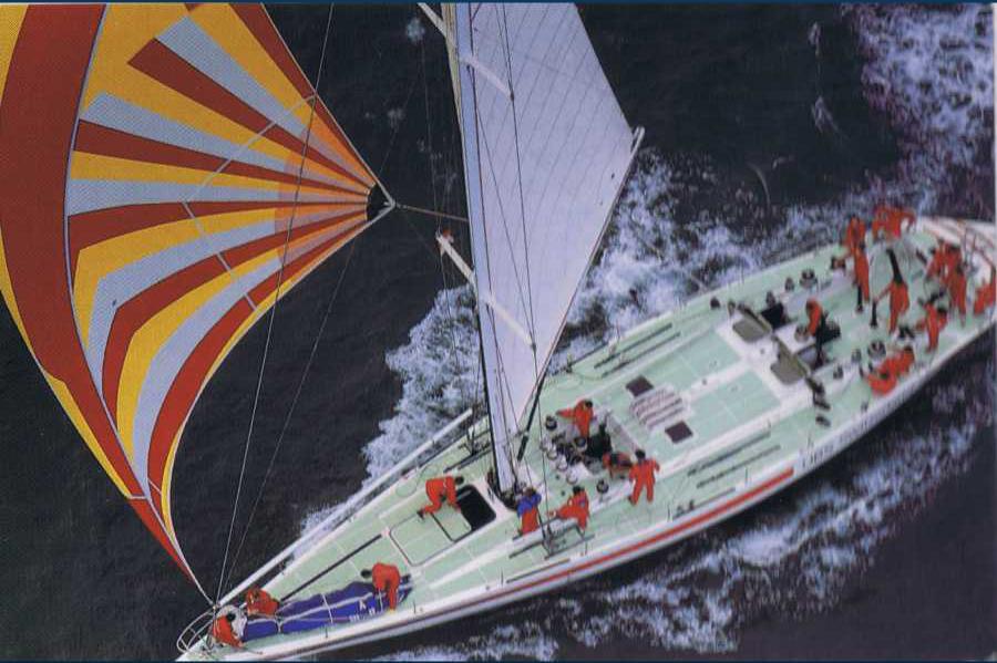 UBS Switzerland, avec lequel Fehlmann a gagné la Withbread 1985-1986 en temps réel.